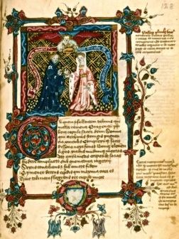 The Marriage of Mercury & Philology  MS Canon. Misc. 110